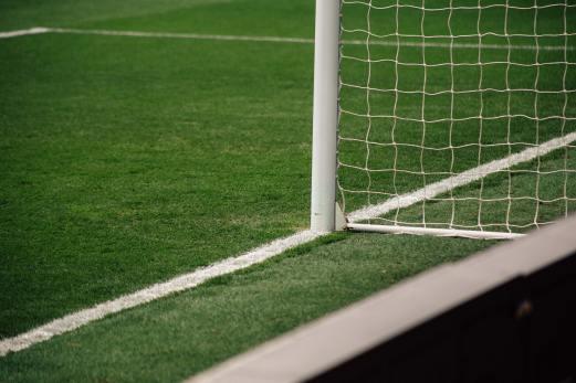 Inlägget handlar om fotboll-VM och därför har vi med ett foto på en fotbollsplan