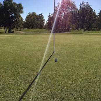 Inlägget handlar om träning och mental träning och vi lyfter ett exempel inom golf. Därför passar det bra att ha en bild på en golfbana.